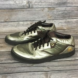 L.A.M.B. Metallic Sneakers